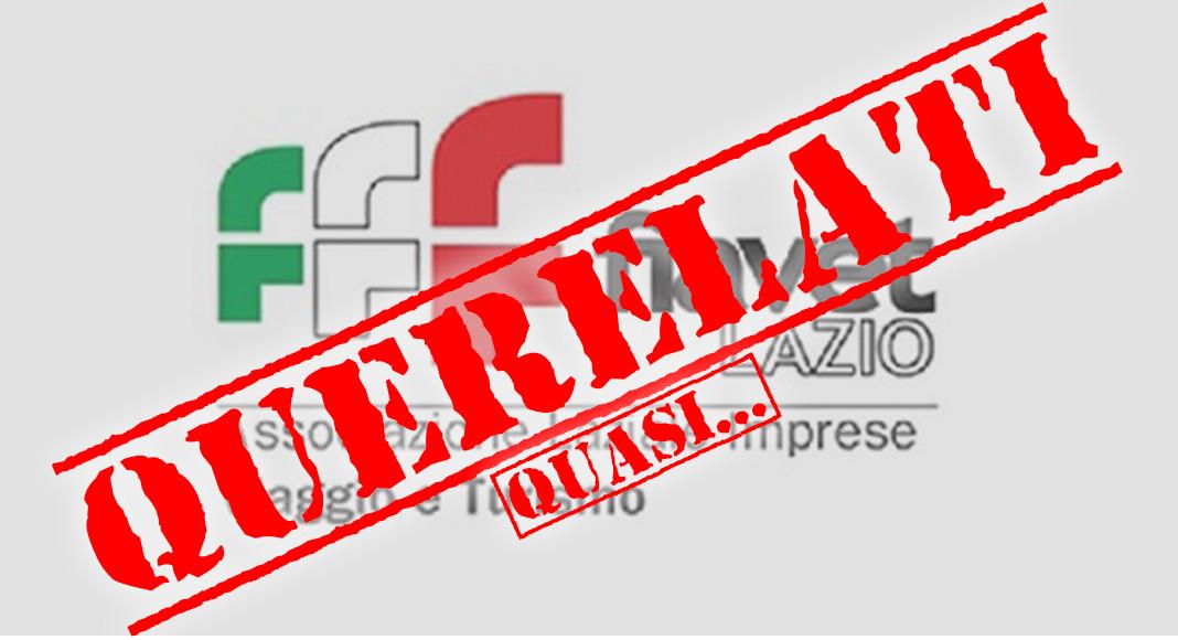 FIAVET LAZIO CHIEDE 100.000 EURO ALL'AIAV